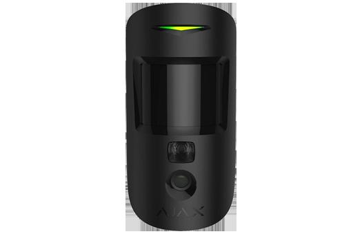 Motion sensor with camera for alarm verification